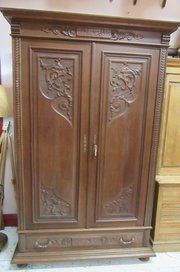 ... Antique French Oak Armoire