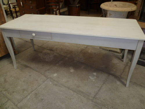 Antique Painted Pine Dining Table Antiques Atlas