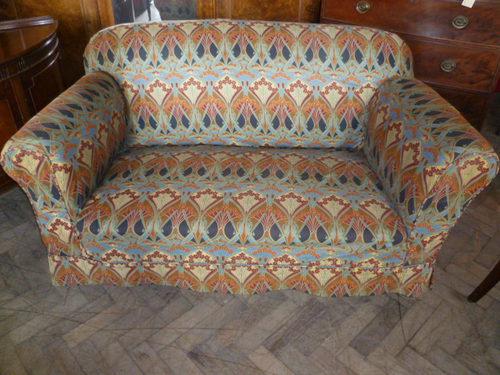 Edwardian Drop Arm Two Seater Sofa ...