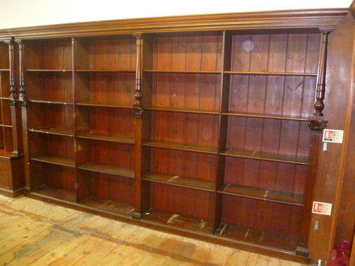 log back bookcase bookcases hidden with lake pine furniture vid rustic home