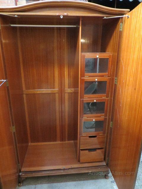 vintage antique furniture wardrobe walnut armoire. Single Walnut Wardrobe Vintage Wardrobes Antique Furniture Armoire