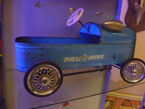 Antiques Atlas Vintage 1960s Triang Royal Prince Pedal Car