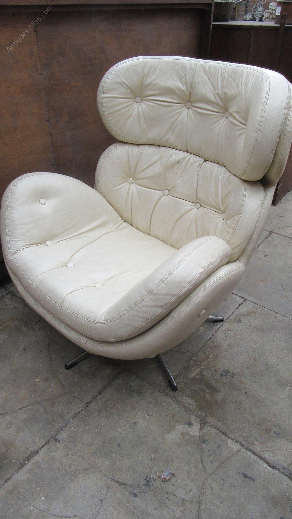Antiques Atlas Vintage 1970s Vinyl Swivel Chair