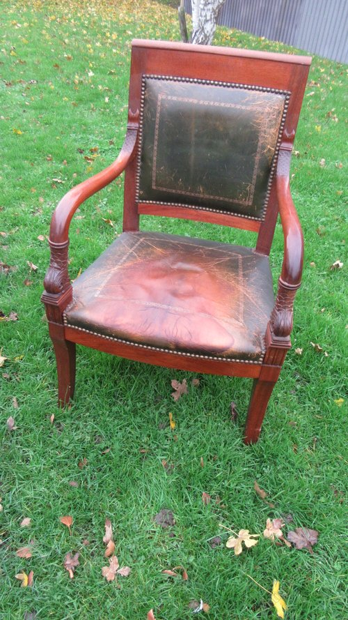 Antiques Atlas Vintage French Empire Style Desk Chair