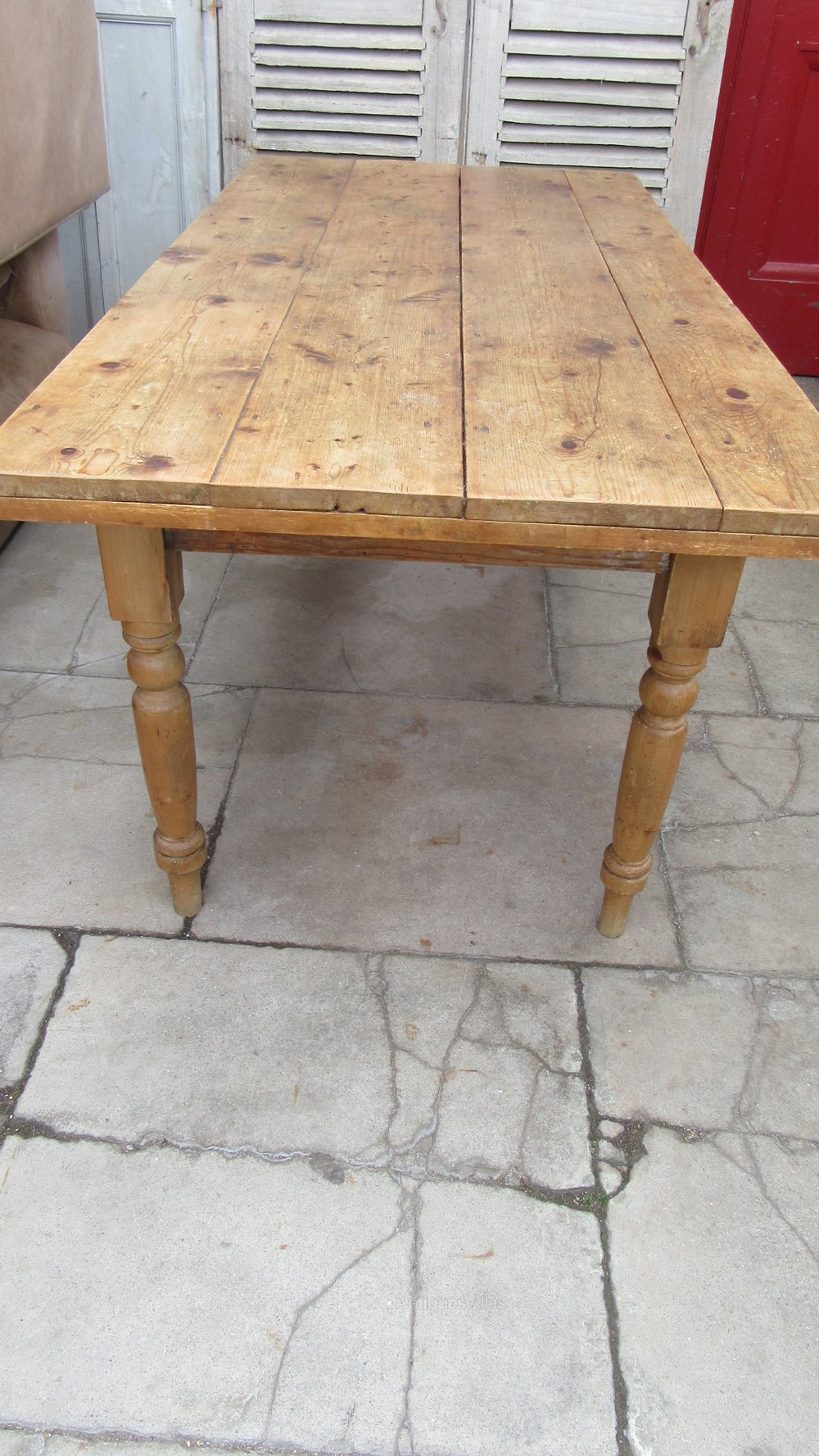 Antiques Atlas Vintage Pine Dining Table