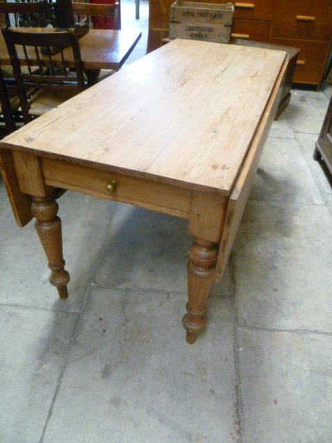 Large Antique Pine Pembroke Table Antiques Atlas
