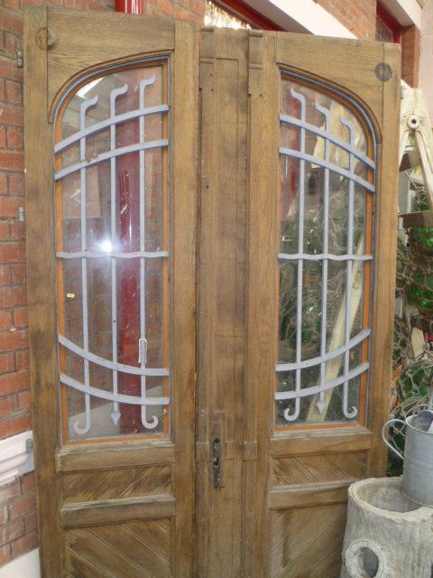 Pair Of French Oak Antique Doors ... - Antiques Atlas - Pair Of French Oak Antique Doors