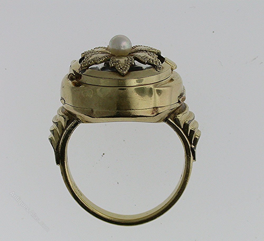 antiques atlas gold filled ring bucherer