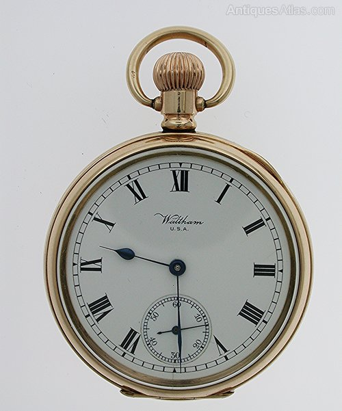 What is the value of a Waltham pocket watch 4549042? What is…