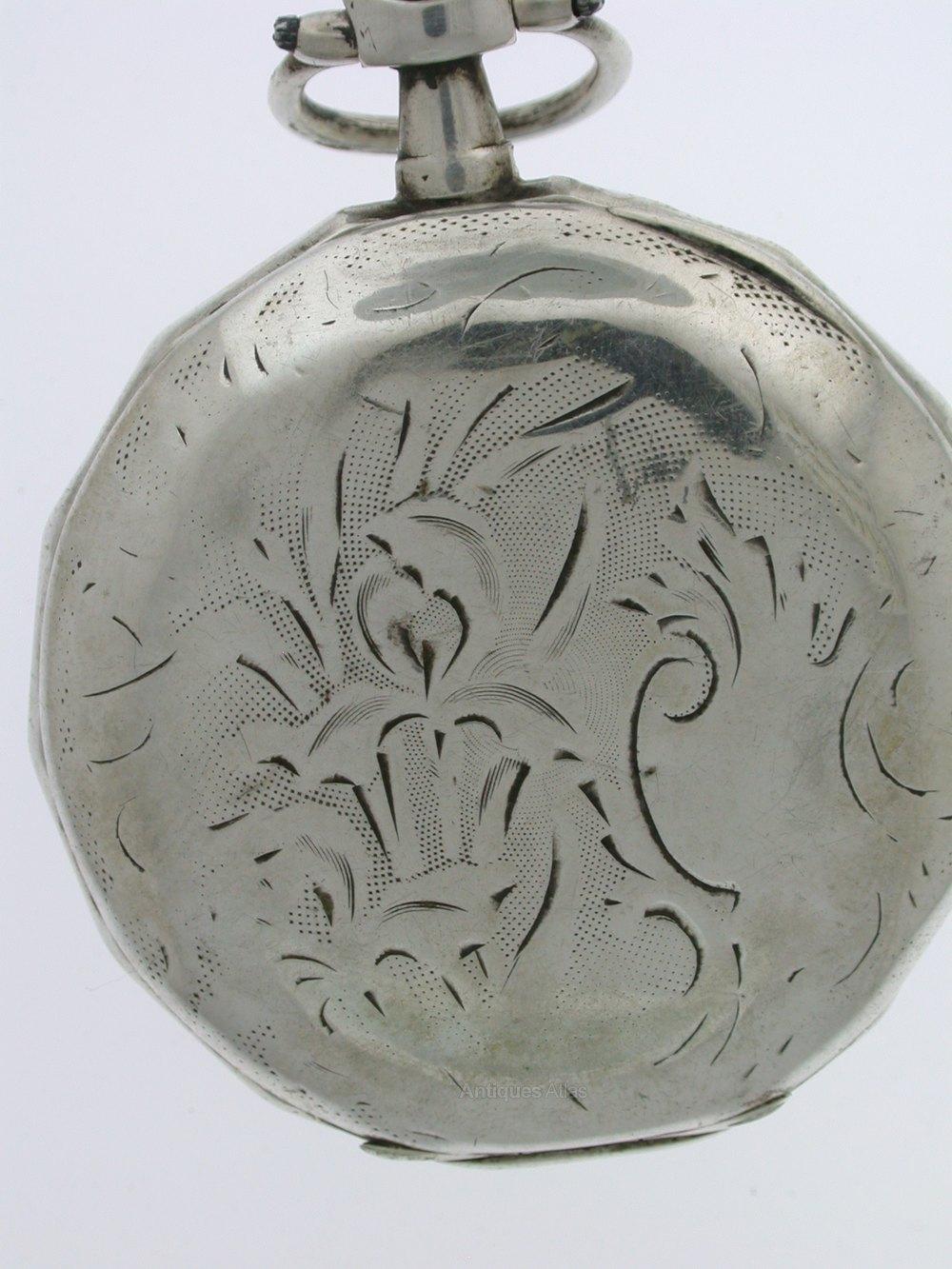 Antiques Atlas - Silver Masonic Recased Open Face Pocket Watch