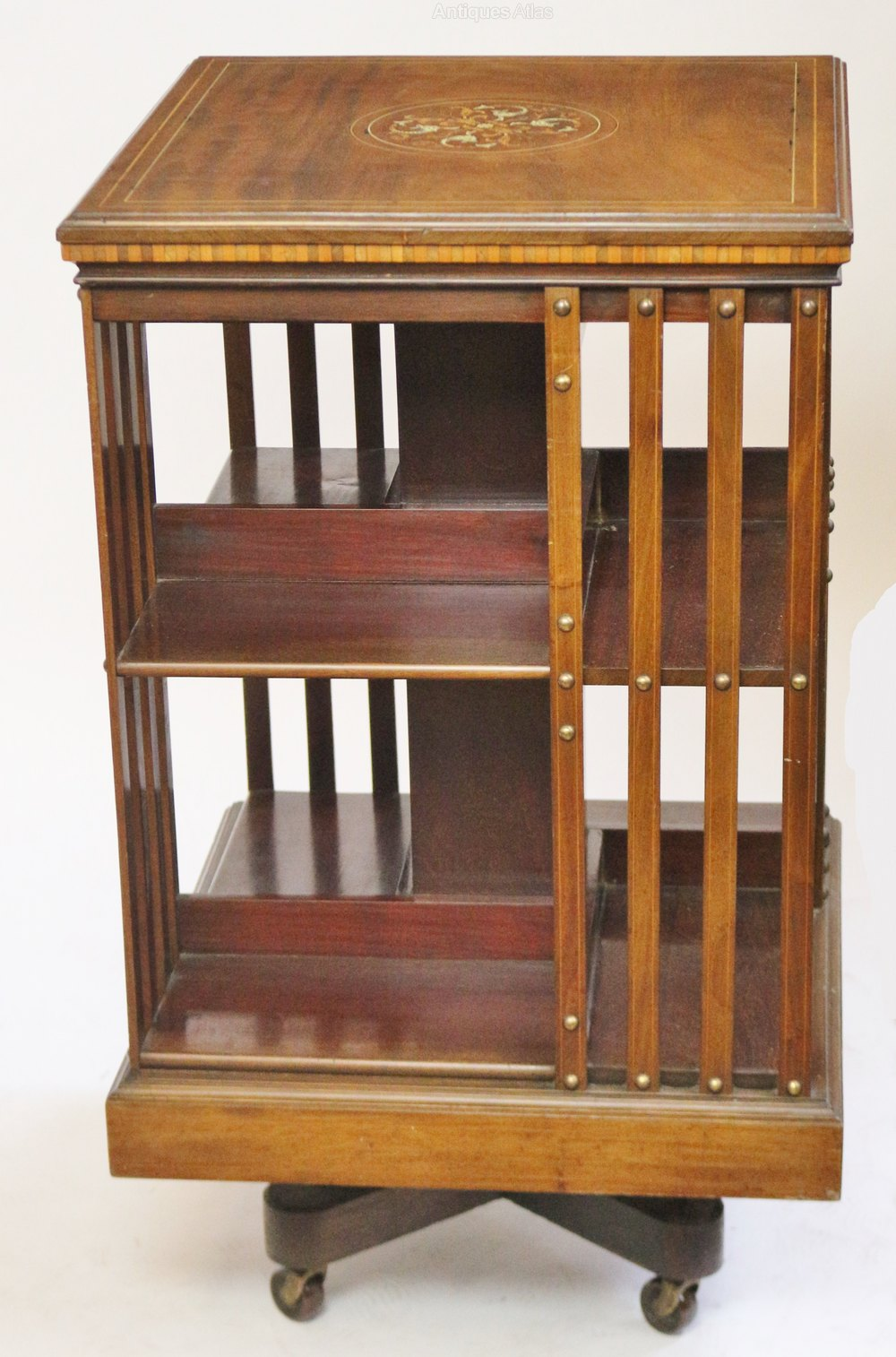 c revolving pin edwardian antique i a charming things bookcase