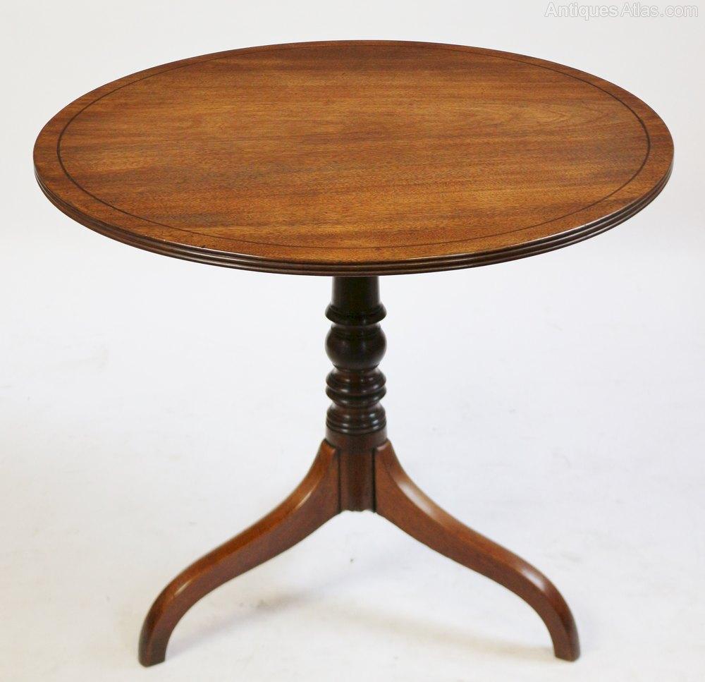Vintage  Tables George Mahogany