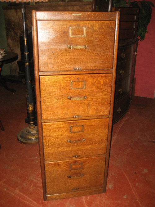 1920s Oak Filing Cabinet Antique ... - 1920's Oak Filing Cabinet - Antiques Atlas