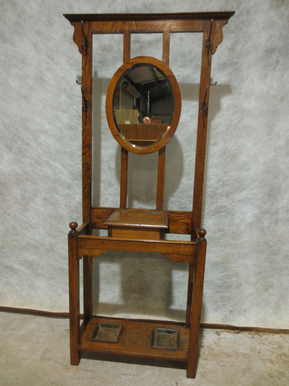 1920 S Oak Hall Stand Antiques Atlas