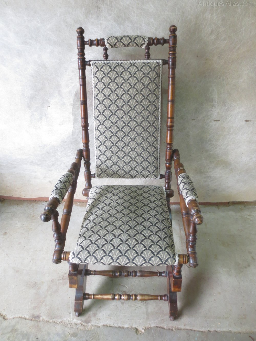 American Rocking Chair Antique ... - American Rocking Chair - Antiques Atlas