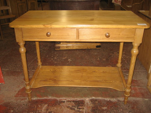 edwardian pine side table - antiques atlas