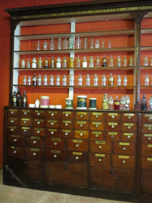 Victorian Mahogany Pharmacy Cabinets Antiques Atlas