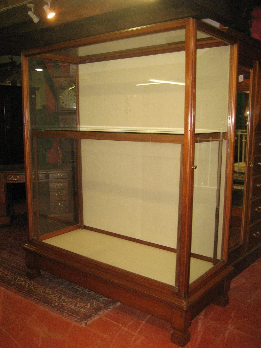 Waring Amp Gillow Museum Mahogany Display Cabinet Antiques