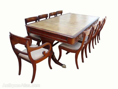 Large Drawer Writing Table Boardroom Table Antiques Atlas - Large boardroom table