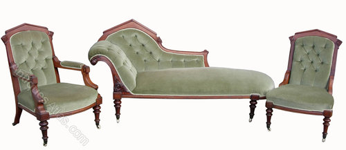 Genial Victorian Three Piece Lounge Suite ...