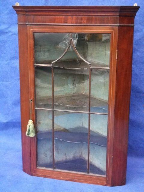 Antique Hanging Corner Cupboard - Antique Hanging Corner Cupboard Antique Furniture