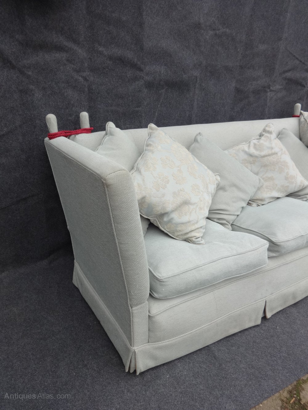 Large 3 Seater Knoll Sofa Vintage And Retro Settees And Sofas ...