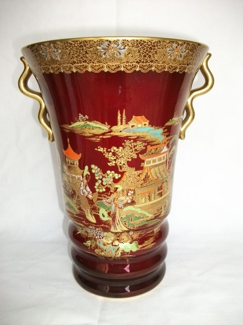 Antiques Atlas Large Carltonware Vase