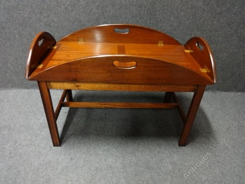 Mahogany Butlers Tray Coffee Table Antiques Atlas