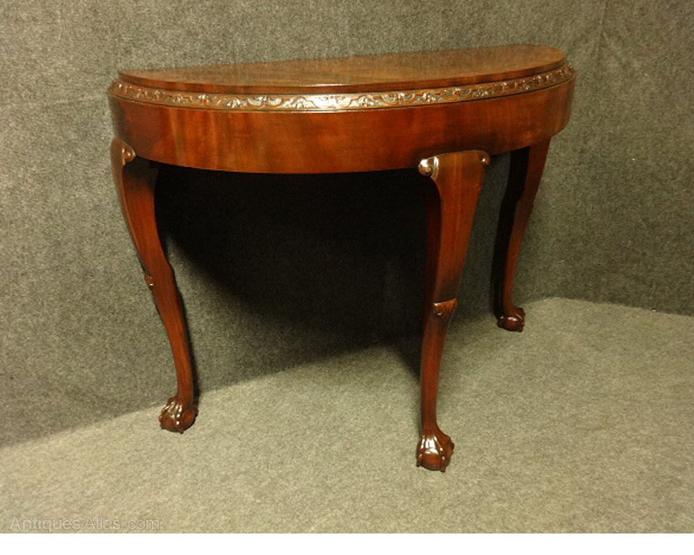 mahogany console table mahogany console table antiques atlas 3947