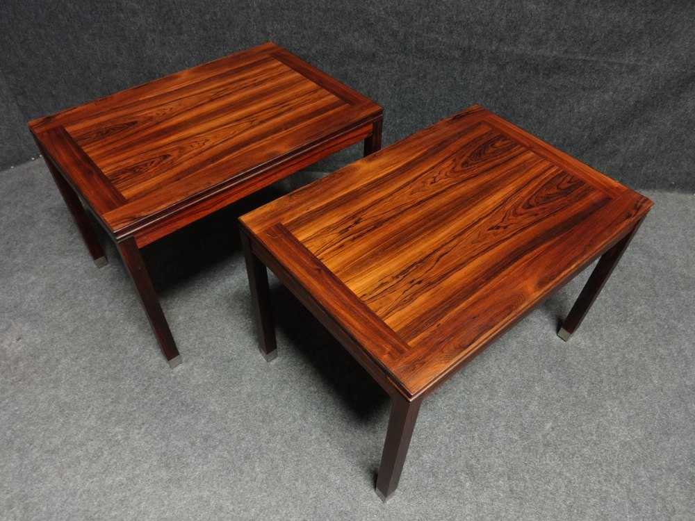 Pair Swedish Rosewood Coffee Tables Midcentury, Retro And Vintage Coffee  Tables ...