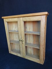 Miles Griffiths Antiques Ltd Pine Hanging Wall Cabinet