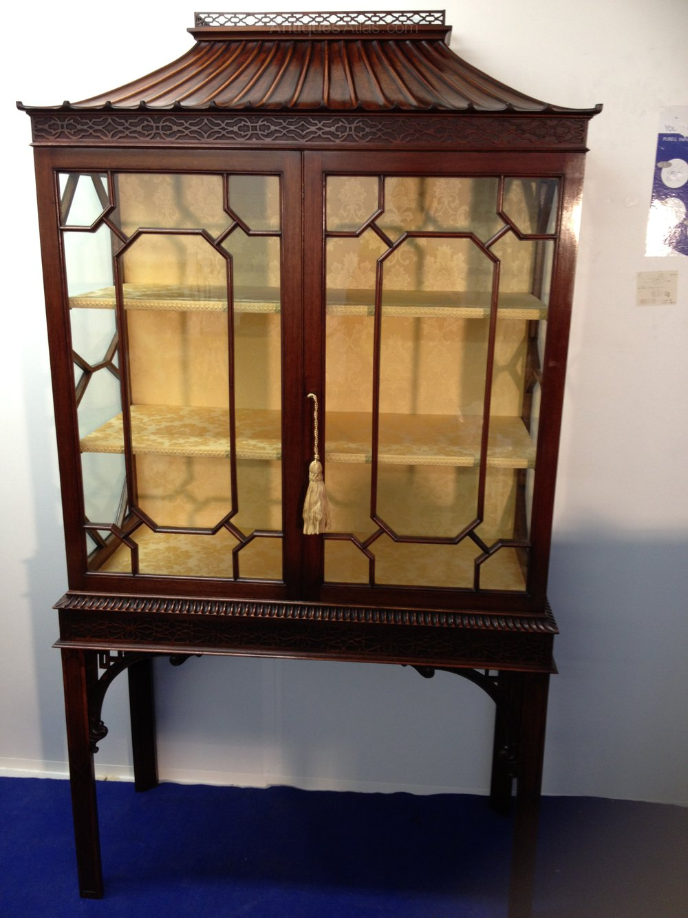 Stunning Chinese Chippendale Display Cabinet Antiques Atlas
