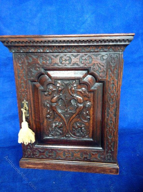 Stunning Oak Spice Cabinet Antique ... - Stunning Oak Spice Cabinet - Antiques Atlas