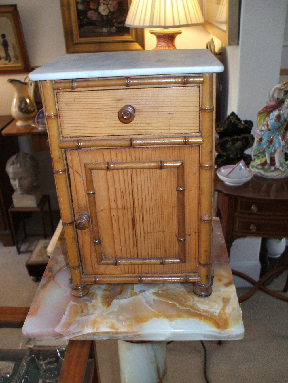 Miniature Victorian Bedside Cabinet