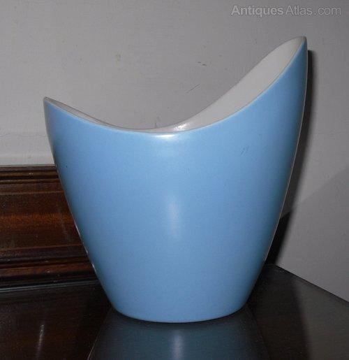 Antiques Atlas Poole Pottery Freeform Vase