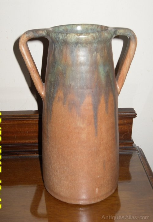 Antiques Atlas Upchurch Pottery Two Handled Vase