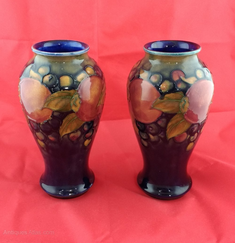 moorcroft pottery dating The very first moorcroft florian ware marks originate from 1897 and have a   between the years of 1904 and 1913, pottery was stamped with a macintyre and .