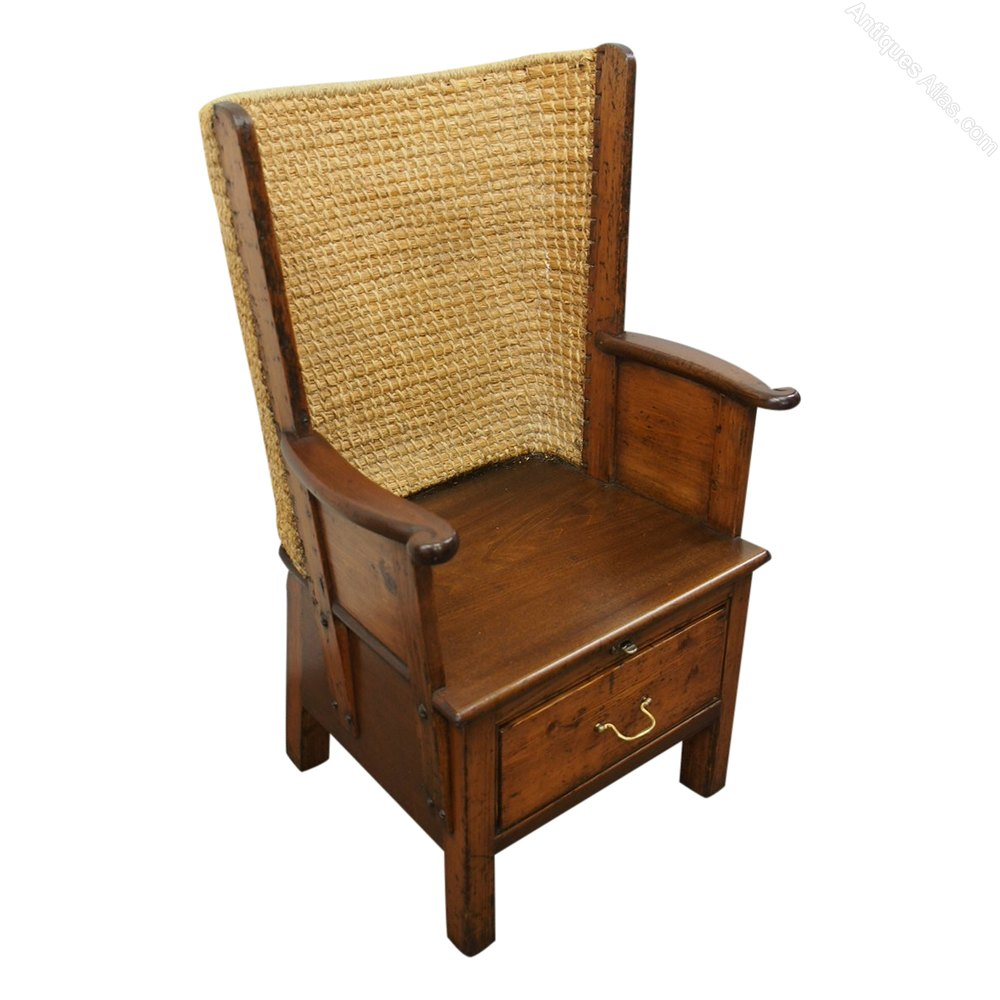 Beech Orkney Chair Antique ... - Beech Orkney Chair - Antiques Atlas