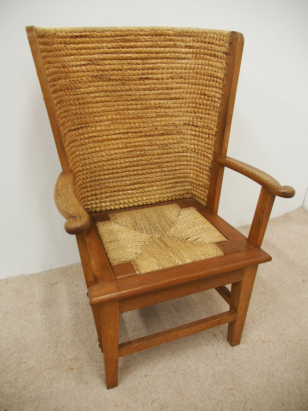Oak Framed Orkney Chair Antique Orkney Chairs ...