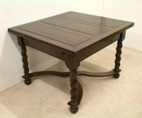 Oak Pull Out Dining Table ...