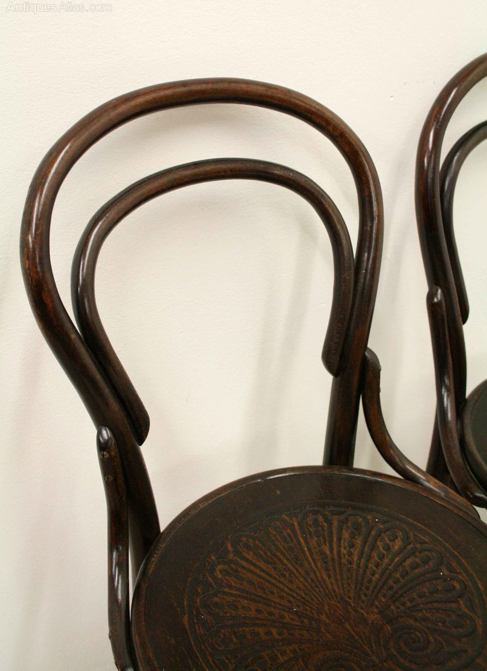 Antique thonet bentwood chair - Pair Of Thonet Bentwood Chairs Antique Armchairs Occasional Chairs Stools