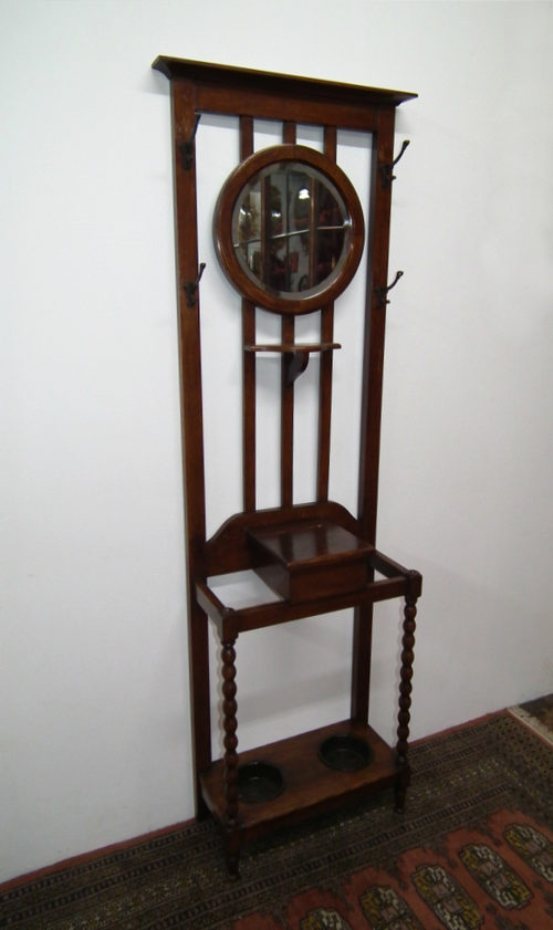Small Oak Hall Stand Antiques Atlas