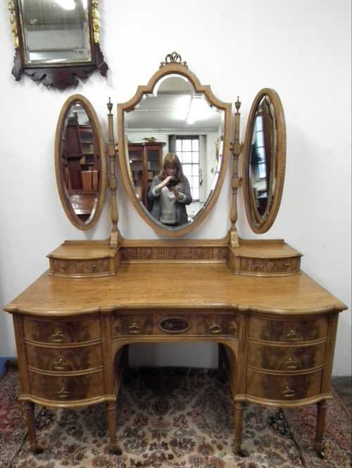 Victorian Adams Style Dressing Table Antiques Atlas