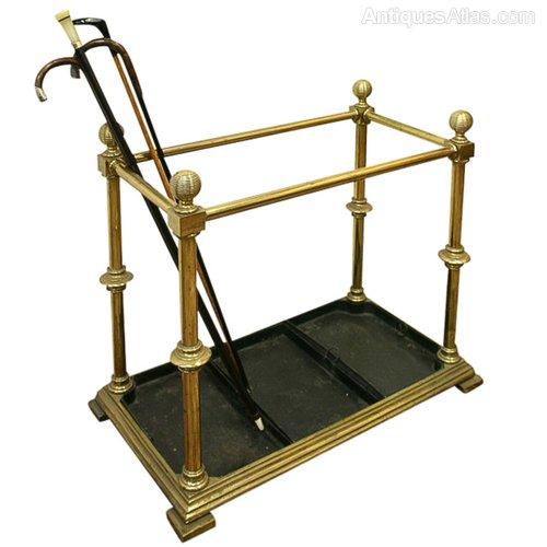 Umbrella Stand Next: Victorian Brass Umbrella Stand~Stick Stand
