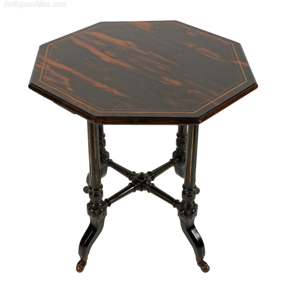 Coromandel wood occasional table antiques atlas for Occasional tables