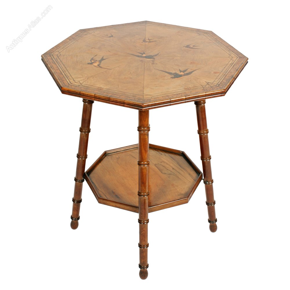 French olive wood occasional table antiques atlas for Occasional tables