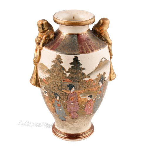 Antiques Atlas Japanese Meiji Period Satsuma Vase