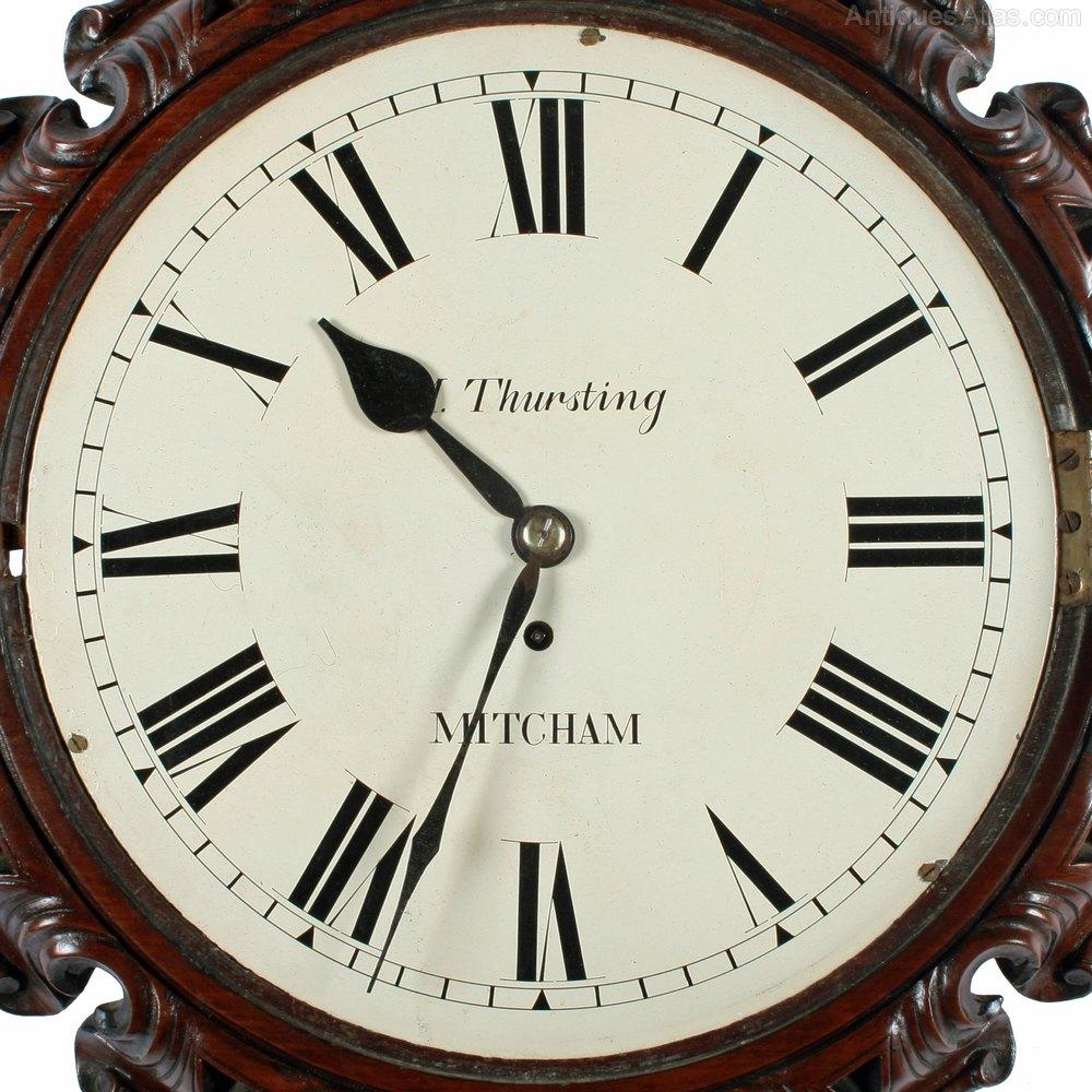 Antiques Atlas Victorian Fusee Wall Clock