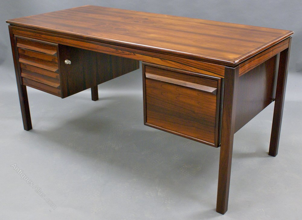 Antiques Atlas A Danish Rosewood Desk