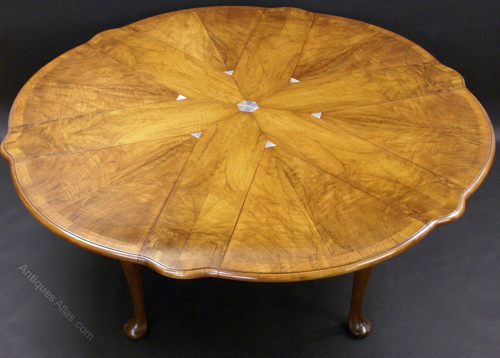 A superb jupe style dining table by gillows antiques atlas for Jupe mechanism